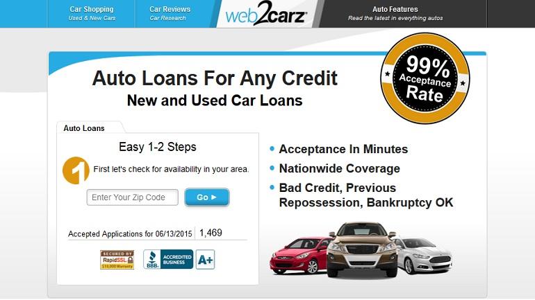 prestamos en web2carz