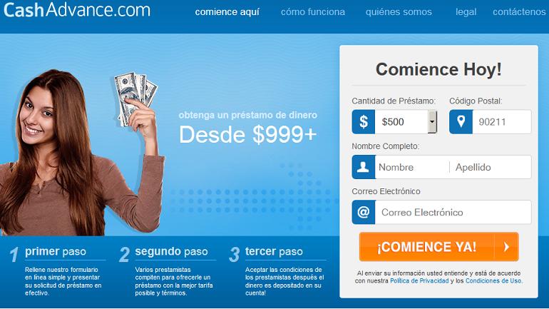 prestamos en linea en cashadvance.com