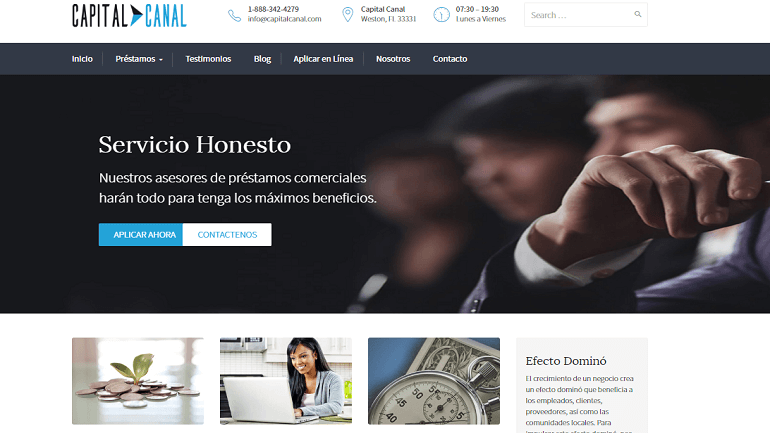 capital canal website