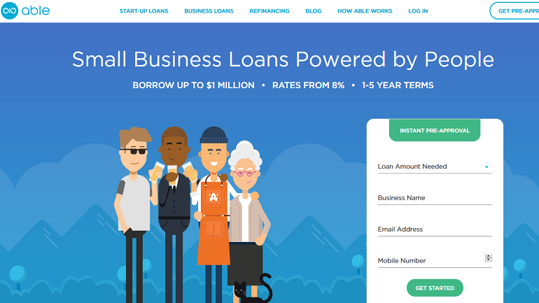 able lending crowdfunding